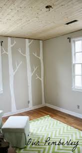 best 25 nursery tree mural ideas on pinterest tree wall diy birch tree mural baby boy