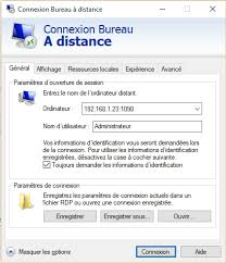 port connexion bureau à distance bureau à distance sur une vm virtualbox par liightman openclassrooms
