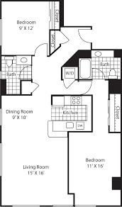 Most Efficient Floor Plans Olympus Apartments In Belltown 2801 Western Avenue