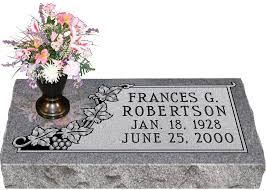 memorial markers granite grave markers with vase roselawnlutheran