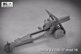 ibg models 1 35 scale 35028 obice da 100 17 mod 16