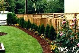 Privacy Garden Ideas Privacy Garden Fences Hydraz Club