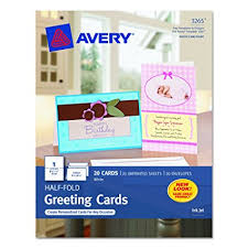 photo greeting cards avery half fold greeting cards for inkjet printers