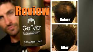 before and after thinning mens haircut how to make thinning hair look thicker gofybr review and test