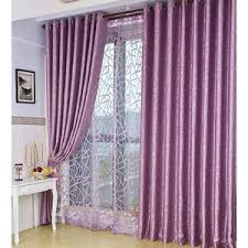 Purple Curtains For Living Room White And Blue Botanical Embroidery Linen Cotton Blend Living Room