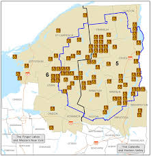 Finger Lakes New York Map by Adirondacks And North Country Accessible Recreation Map Nys Dept