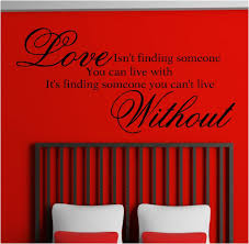 love wall art roselawnlutheran love isnu0027t finding someone vinyl wall art stickers graphics
