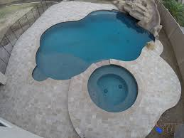 building a swimming pool coping and deck