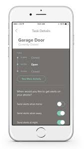 Control Garage Door With Iphone by Remote Home Monitoring System Uses How Notion Works