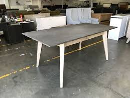 how to clean concrete table top concrete table in penrith area nsw furniture gumtree australia