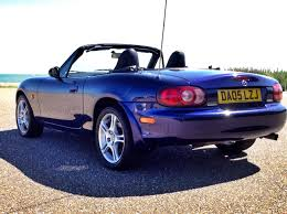 mazda convertible blue 2005 mazda mx 5 sport 1 8 roadster for sale at lifestyle mazda
