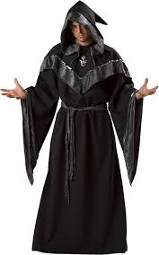 amazon com incharacter costumes men u0027s dark sorcerer robe clothing