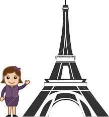 eiffel tower cartoon hd