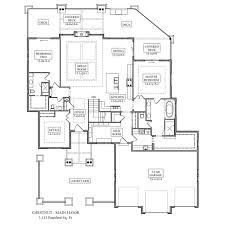 Custom Floor Plan Chestnut Floor Plan From Noco Custom Homes