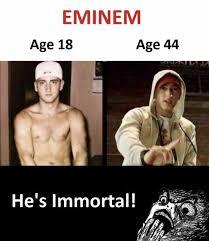 Immortal Meme - dopl3r com memes eminem age 18 age 44 hes immortal