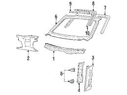 1988 porsche 944 parts parts com porsche 944 cowl oem parts