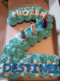 cupcake birthday cake birthday cake frozen cupcakes image inspiration of cake and