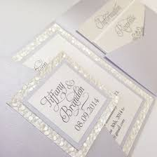 Best Resume Paper White Or Ivory by Pebble Paper Pewter And Ivory Wedding Invitation Pocketfold