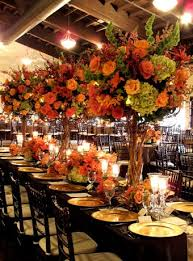 fall arrangements for tables fall wedding table arrangements wedding guide