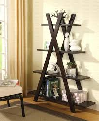 unusual shelving decorative book shelves twelve playful and unusual bookcase with x