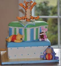 winnie the pooh baby shower cake charming baby shower cake featuring baby winnie the pooh between