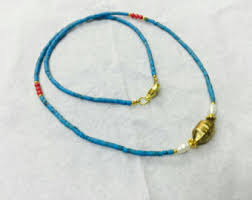 Handmade Seed Beaded Gold Plated Free Shipping Worldwide Afghan Jewelry Turquoise Beads And