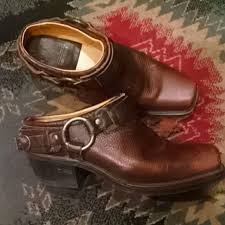 womens boots in s sizes 67 frye boots frye belted harness mule s boot size 8