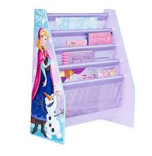 disney frozen kids sling bookcase bedroom storage hellohome