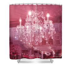 Chandelier Pink Pink Chandelier Shower Curtains America