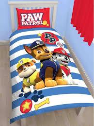 Single Duvet Cover Sets Paw Patrol Pawsome Single Duvet Cover Set Polycotton 20 65 Free