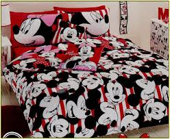 Minnie Mouse Bedroom Set Toddler Minnie And Mickey Mouse Bedding Sets