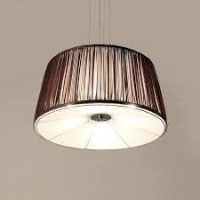round fabric shade pendant light new linen shade pendant light round fabric shade pendant light