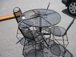 Metal Mesh Patio Table 55 Best Metal Dining Table Images On Pinterest Dining Room