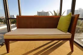Wooden Bench With Cushion Arizona Custom Cushions Custom Outdoor Cushions Patio Seat