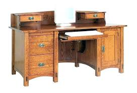 Small Wood Computer Desk With Drawers Wood Desk With Drawers Wearelegaci