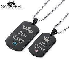 Personalized Dog Tags For Couples Aliexpress Com Buy Gagaffel Dog Tags Military Army Cards Couple