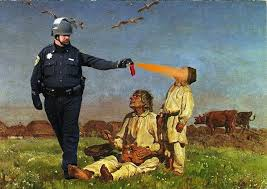 Pepper Spray Meme - what do occupy protesters think about pepper spray cop being