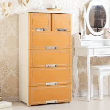 Plastic Cabinets Usd 123 17 Multilayer Plastic Drawer Type Lockers Baby Wardrobe