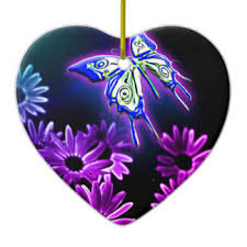 purple butterfly ornaments keepsake ornaments zazzle