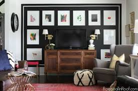 how to do a gallery wall stunning black and white gallery wall