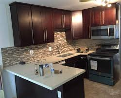 Shaker Cherry Kitchen Cabinets Exellent Maple Shaker Kitchen Cabinets Style Cosy A Throughout