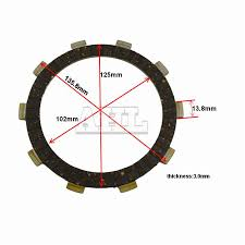 honda cbr parts motorcycle engine parts clutch friction plates kit for honda