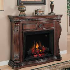 classicflame lexington 55 inch electric wall mantel fireplace with