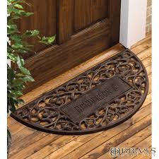 Exterior Door Mat Beautiful Door Mats Outdoor In Personalized Welcome Sensational