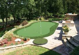 Putting Green In Backyard by Artificial Grass And Lawn Turf Austin Tx Creative Turf Solutions