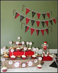 Sock Monkey Baby Bedding Sylas U0027s Diy U0027sock Monkey U0027 1st Birthday Party Project Nursery