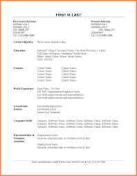 resume format information technology delighted resume information technology graduate gallery exle