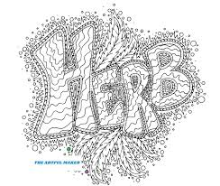 herb coloring page by the artful maker