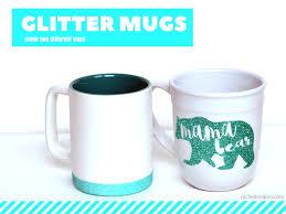 Heated Coffee Mug Glitter Coffee Mug Made Two Different Ways Rachel Teodoro