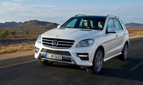 2012 mercedes benz ml throws down gauntlet to audi q7 and bmw x5